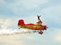 Gene Soucy And Theresa Stokes Wingwalking Routine