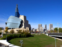 The Canadian Museum For Human Rights and Downtown Winnipeg