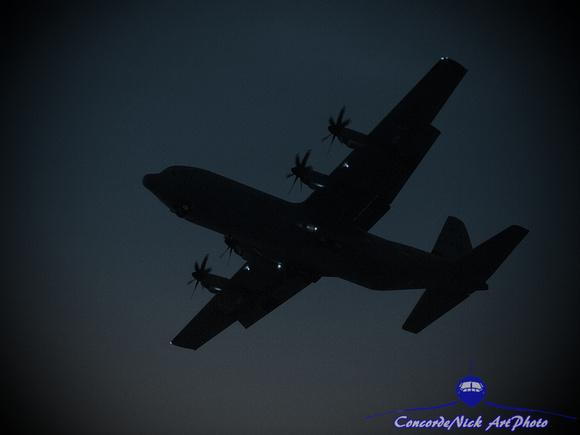 C-130, CC-130J, Hercules, Transport, Aviation, Aircraft, Airplane, Art, Artwork