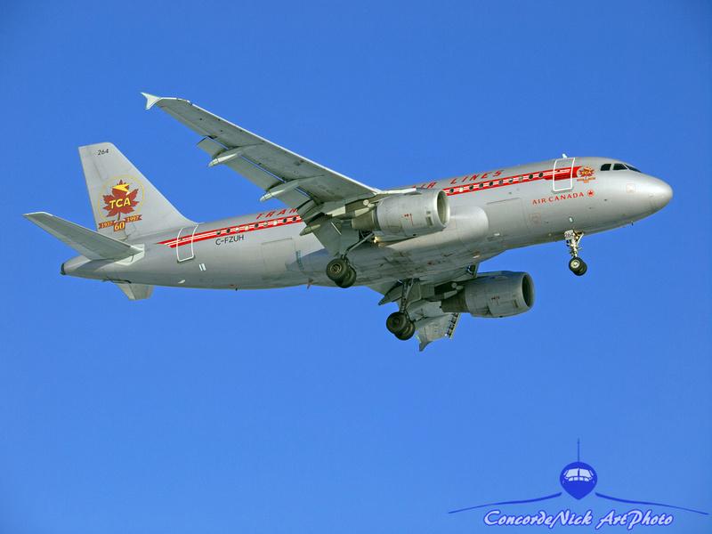 Air Canada / TCA Airbus A-319