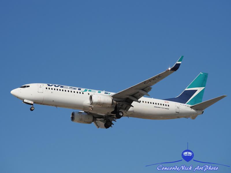 WestJet Boeing B-737-800