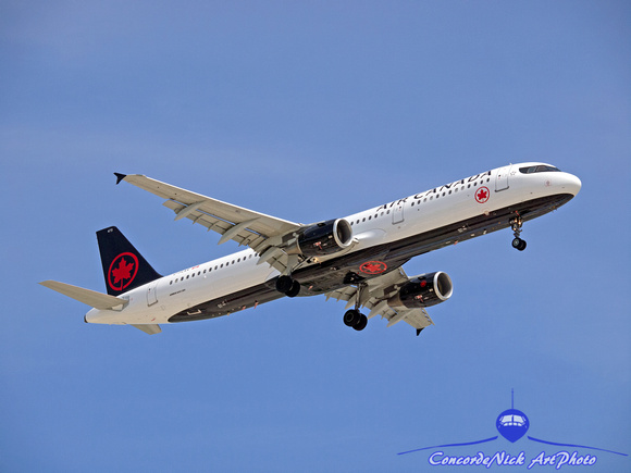 Air Canada Airbus A321 New Colors