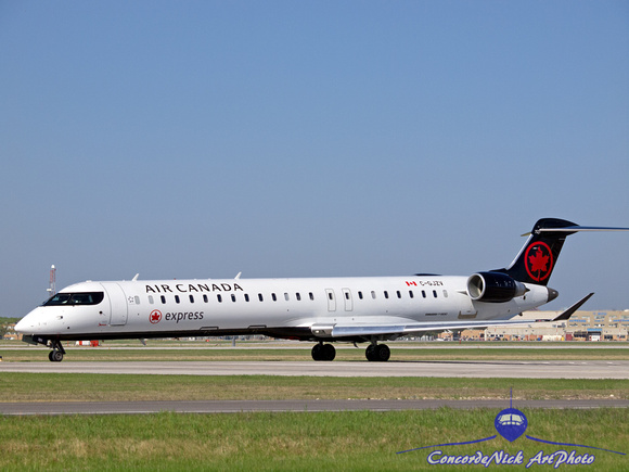 Air Canada Express Bombardier CRJ-900 New Colors