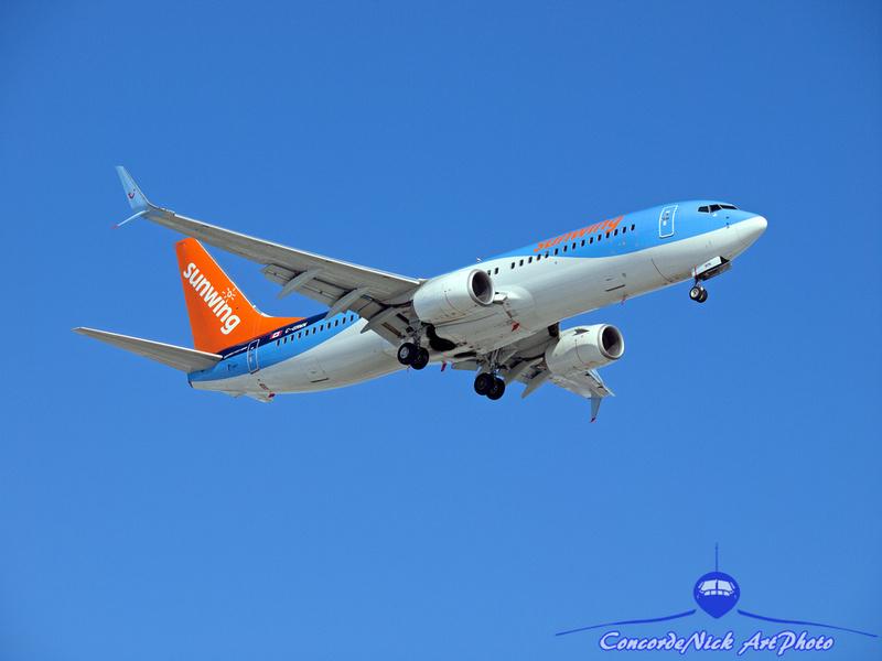 Sunwing B-737-800