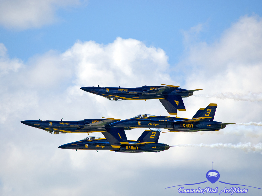 Blue Angels Mirror Pass