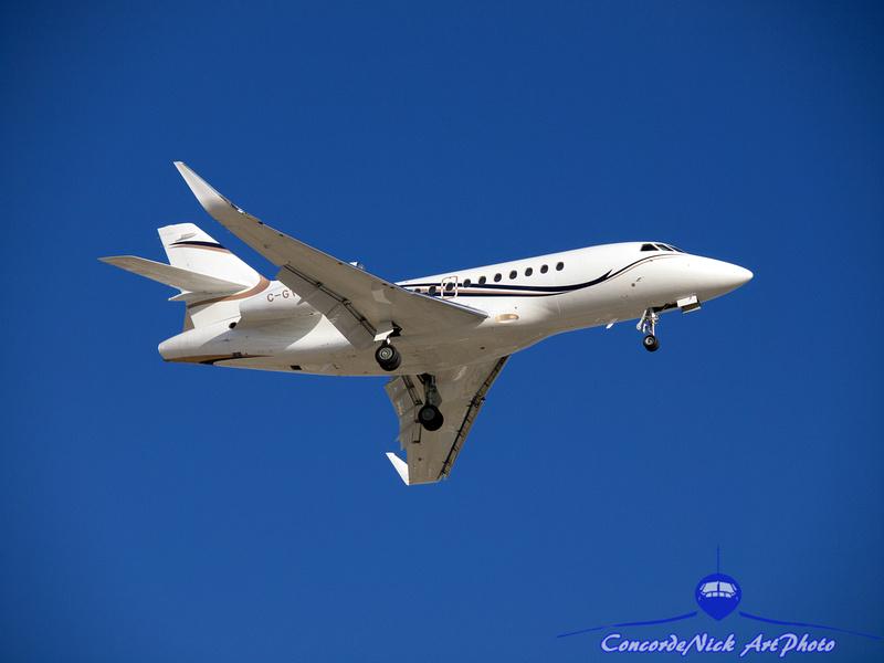 Dassault Falcon 900 Business Jet