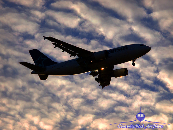 Airbus, A-310, Silhouette, Aviation, Aircraft, Airplane, Flying, Flight, Art