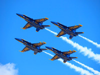 """Blue Angels"", F-18, Hornet, Jet, Fighter, Airplane, Aviation, Aircraft"
