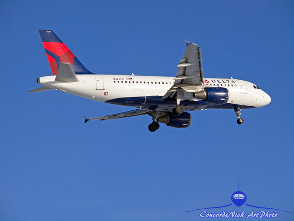 Delta Airlines Airbus A319