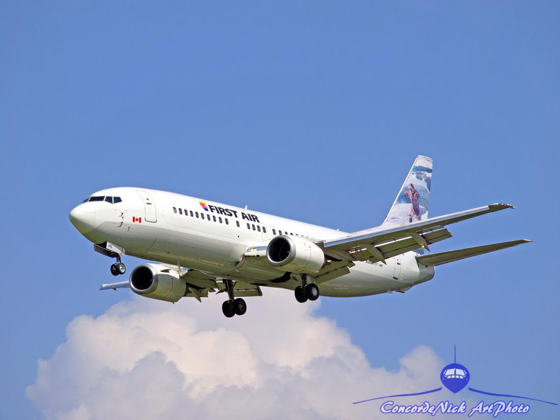 First Air Boeing B-737-400
