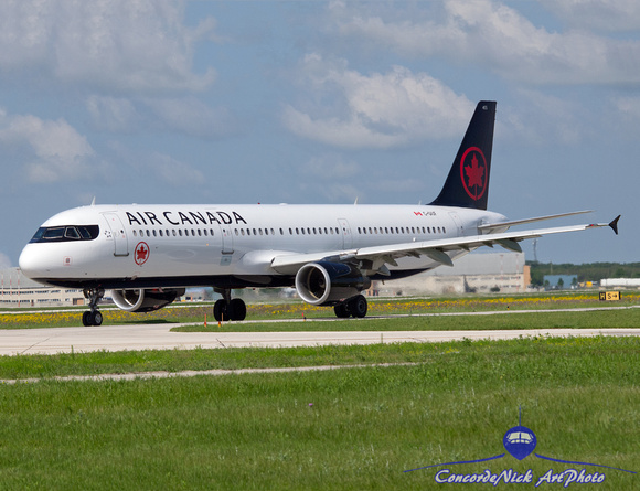 Air Canada Airbus A321-200 New Colors