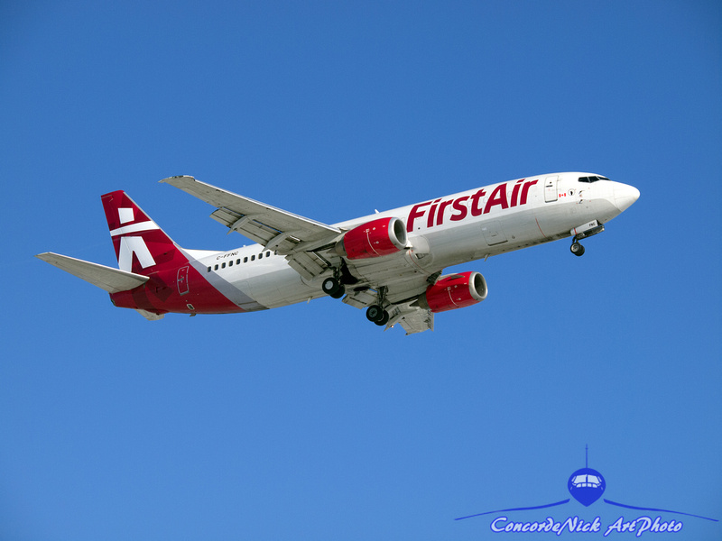 First Air B-737-400 Combi New Livery