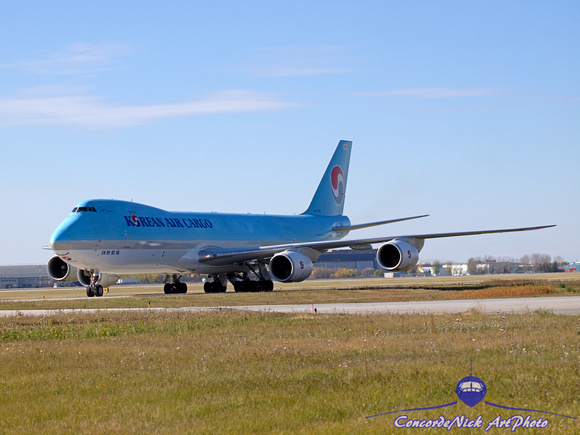 Korean Air Cargo Boeing B-747-8F